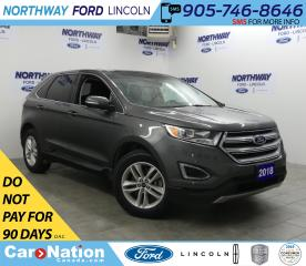 Used 2018 Ford Edge SEL | AWD  | REAR CAMERA  | HTD SEATS for sale in Brantford, ON