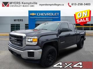 Used 2015 GMC Sierra 1500 4WD DBL CAB 143.5 for sale in Kemptville, ON