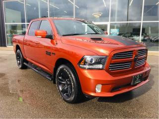 Used 2017 RAM 1500 Sport, New Tires and Brakes for Safety for sale in Ingersoll, ON
