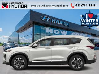 New 2020 Hyundai Santa Fe 2.0T Luxury AWD  - Sunroof - $271 B/W for sale in Nepean, ON