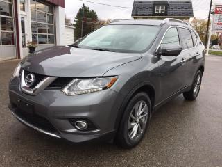 Used 2015 Nissan Rogue SL/AWD/LEATHER/P.ROOF/NAV/360 CAM for sale in Guelph, ON