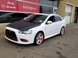 Used 2015 Mitsubishi Lancer SE AWD / Sunroof / Heated Front Seats for sale in Edmonton, AB