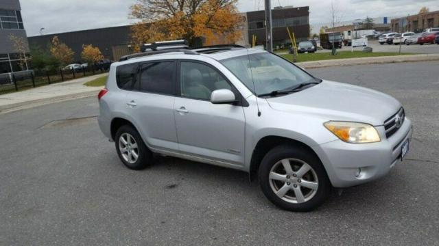 2007 Toyota RAV4 limited, 4 WD, Auto, roof,3/Y warranty avail