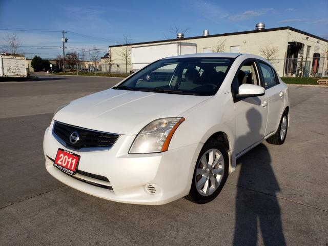 2011 Nissan Sentra Auto, 4 door, 3/Y warranty available.