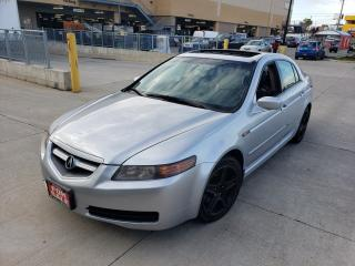 Used 2005 Acura TL Leather, Sunroof, Auto, 3/Y Warranty available. for sale in Toronto, ON