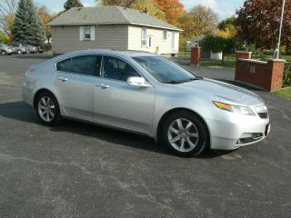 Used 2012 Acura TL w/Tech Pkg for sale in Stoney Creek, ON