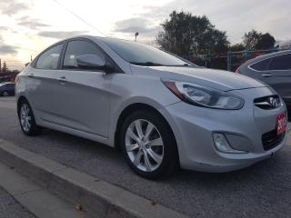 Used 2013 Hyundai Accent GLS-ECO-SUNROOF-BLUETOOTH-AUX-USB-ALLOYS-MUST SEE! for sale in Scarborough, ON