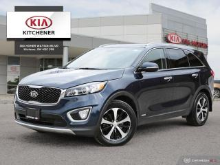 Used 2016 Kia Sorento AWD EX+ V6 (7-Seater) - PANO ROOF! for sale in Kitchener, ON