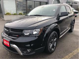 Used 2019 Dodge Journey Crossroad AWD w/Leather, Navi, Sunroof, DVD, 7-Pas for sale in Hamilton, ON