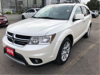 Used 2019 Dodge Journey GT AWD w/Leather, Sunroof, DVD, Navi, 7-Passenger for sale in Hamilton, ON