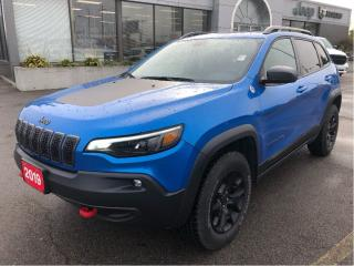 Used 2019 Jeep Cherokee Trailhawk 4x4 V6 w/Leather, Navi, Sunroof, Tow Pac for sale in Hamilton, ON