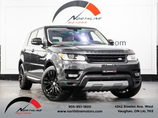 Used 2016 Land Rover Range Rover Sport Td6 HSE Navigation Heads Up Disp LDW Pano Roof for sale in Vaughan, ON