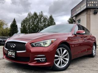 Used 2014 Infiniti Q50 AWD for sale in Scarborough, ON