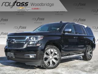 Used 2017 Chevrolet Tahoe LTZ, VENTED SEATS, SUNROOF, NAV, BOSE for sale in Woodbridge, ON