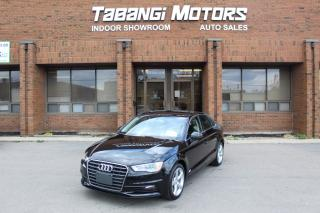 Used 2015 Audi A3 NO ACCIDENTS I LEATHER I SUNROOF I KEYLESS I CRUISE I BT for sale in Mississauga, ON