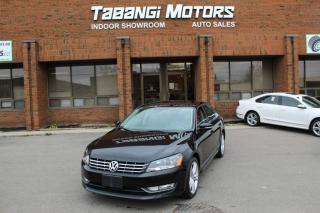 Used 2013 Volkswagen Passat NO ACCIDENTS I NAVIGATION I LEATHER I SUNROOF I HEATED SEATS for sale in Mississauga, ON