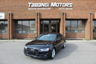 Used 2015 Audi A4 TECHNIK I NAVIGATION I REAR CAM I LEATHER I SUNROOF I BT for sale in Mississauga, ON