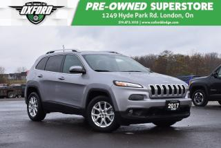 Used 2017 Jeep Cherokee North - One Owner, Well Maintained, Very Low Kms for sale in London, ON