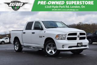 Used 2017 RAM 1500 ST - Sporty Appearance, Tubular Side Steps, Linex, for sale in London, ON