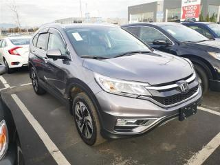 Used 2016 Honda CR-V Touring for sale in Richmond, BC