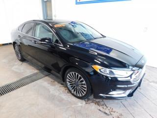 Used 2017 Ford Fusion TITANIUM AWD LEATHER NAVI SUNROOF for sale in Listowel, ON