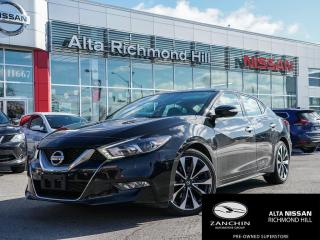 Used 2017 Nissan Maxima SR for sale in Richmond Hill, ON