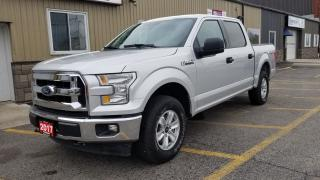 Used 2017 Ford F-150 XLT-4X4-SUPERCREW-REAR CAMERA-TRAILER ASSIST for sale in Tilbury, ON