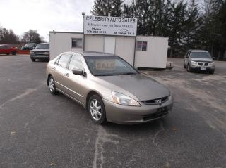 Used 2005 Honda Accord EXL for sale in Elmvale, ON