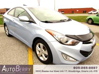 Used 2013 Hyundai Elantra Coupe GS - 1.8L for sale in Woodbridge, ON