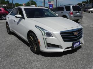 Used 2015 Cadillac CTS Luxury AWD for sale in Windsor, ON