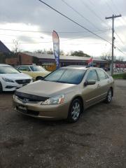 Used 2005 Honda Accord EX V6 for sale in Kitchener, ON