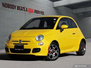 Used 2015 Fiat 500 Sport*Premium 7 Cluster*Rare Colour*Spoiler*Bucke for sale in Mississauga, ON