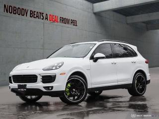 Used 2017 Porsche Cayenne S Platinum Edition, EV for sale in Mississauga, ON