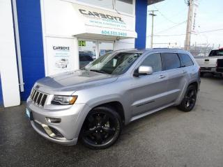 Used 2015 Jeep Grand Cherokee Overland 4WD, Tech Pkg, Nav, Pano Roof, Blind Spot for sale in Langley, BC