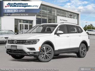 New 2019 Volkswagen Tiguan Highline for sale in Surrey, BC