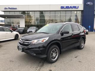 Used 2016 Honda CR-V LX AWD - 39000KM for sale in Port Coquitlam, BC
