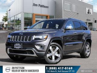 Used 2015 Jeep Grand Cherokee Limited for sale in Vancouver, BC