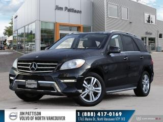 Used 2012 Mercedes-Benz ML-Class ML 350 BlueTEC for sale in North Vancouver, BC
