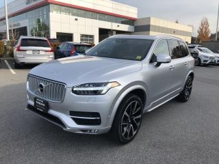 Used 2018 Volvo XC90 T6 AWD Inscription Volvo Certified Warranty! for sale in Surrey, BC