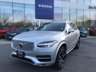 Used 2018 Volvo XC90 T6 Inscription No Accident Claim Volvo Certified W for sale in Surrey, BC