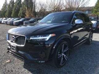 New 2019 Volvo XC90 T6 R-Design  Demo Sale Special! for sale in Surrey, BC