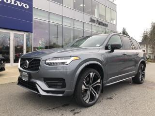 New 2020 Volvo XC90 Hybrid T8 R-Design for sale in Surrey, BC