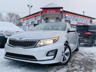 Used 2015 Kia Optima Hybrid EX HYBRID | PANO-ROOF | ALLOYS | BACK-UP CAM | HEATED SEATS/STEERING WHEEL for sale in Guelph, ON