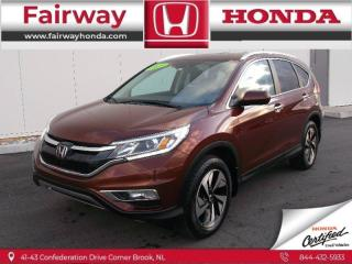 Used 2015 Honda CR-V Touring for sale in Halifax, NS
