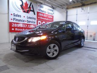 Used 2015 Honda Civic Auto LOW KM  1 OWNER BLUETOOTH B-CAMERA PW PM PL K for sale in Oakville, ON