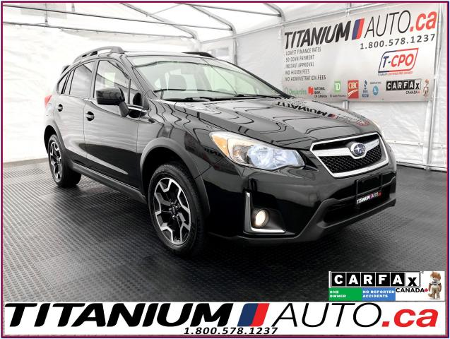 2016 Subaru Crosstrek Sport/Tech PKG+Camera+Eye Sight+Sunroof+AWD+XM+
