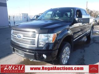 Used 2011 Ford F-150 PLATINUM SUPERCREW LWB 4WD 3.5L for sale in Calgary, AB