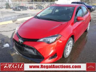 Used 2018 Toyota Corolla LE 4D Sedan 1.8L for sale in Calgary, AB