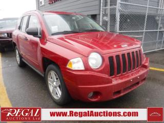 Used 2009 Jeep Compass Sport 4D Utility for sale in Calgary, AB