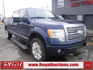 Used 2009 Ford F-150 PLATINUM 4D SUPERCREW 4WD for sale in Calgary, AB